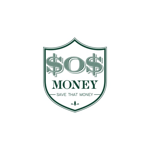 SOS Money Logo Design