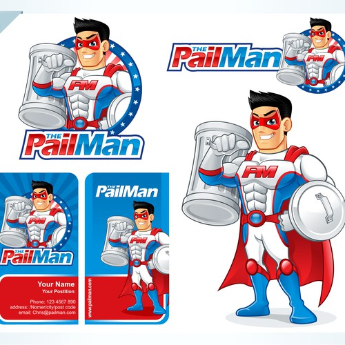 The Pail Man needs a new logo