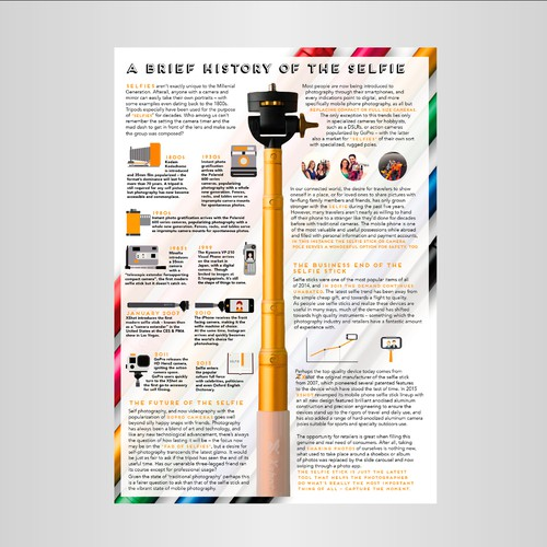 Advertorial - Photography Print Magazine Page Design