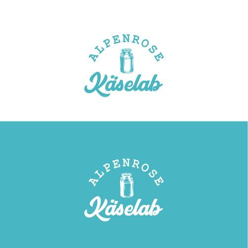Alpenrose Käselab Logo