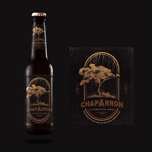 Chaparron - Beer Label