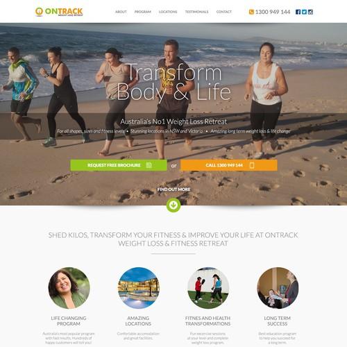 Fitness website.