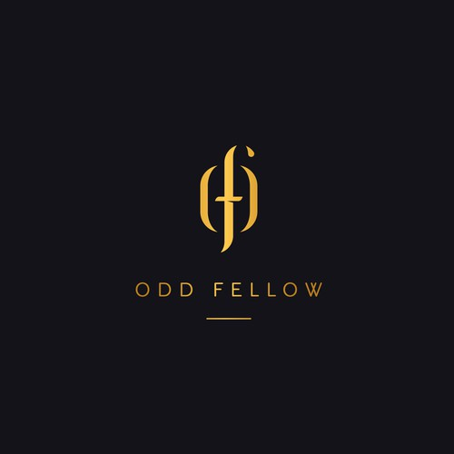 Logo design for the ODD Fellow