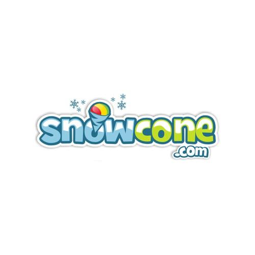 Create an an exciting new logo design for snowcone.com