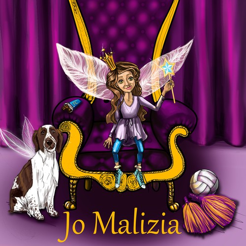 Jo Malizia needs a new book or magazine cover