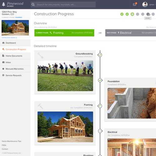 Web App - Residential Construction