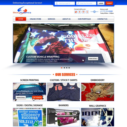 Sticky Graphics - Sells Multitude of print services