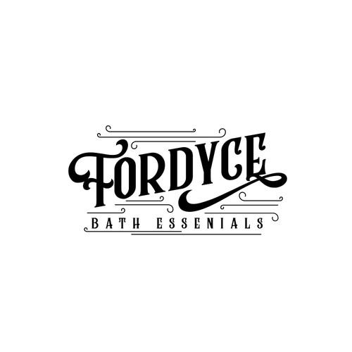 Logo design for Fordyce Bath Essentials