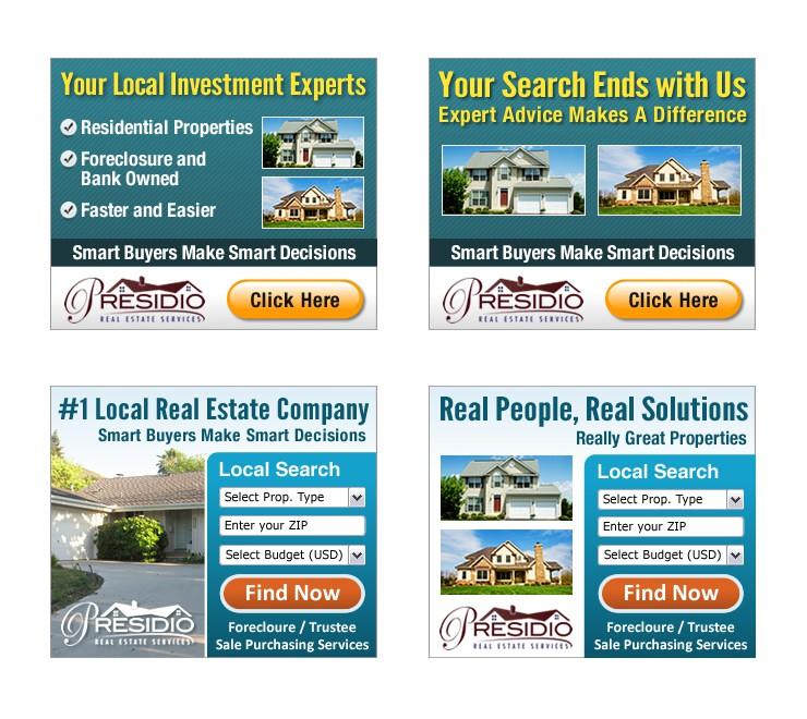 Banner/Box Ad for Presidio Real Estate Services