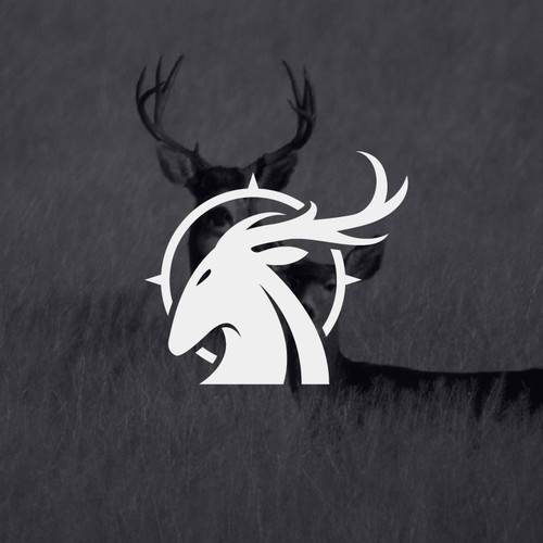 modern deer hunter logo
