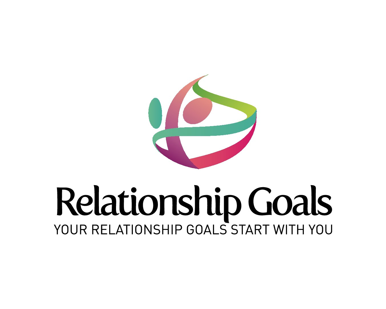 Create a modern happy and upbeat website and logo for Relationship Goals