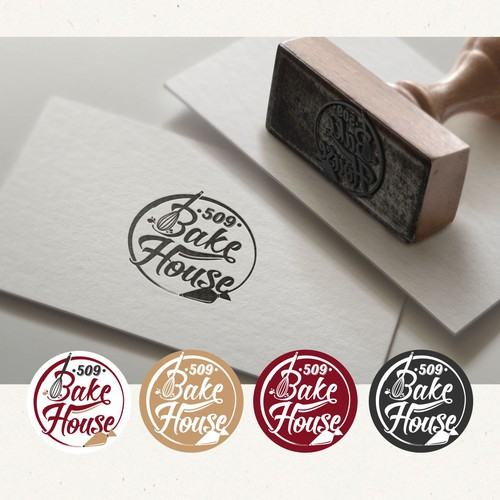 Logo design for bakery company