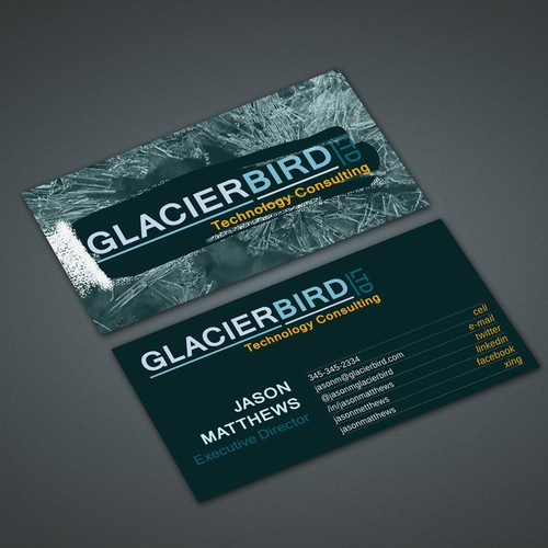 Stationery for Glacierbird Ltd.
