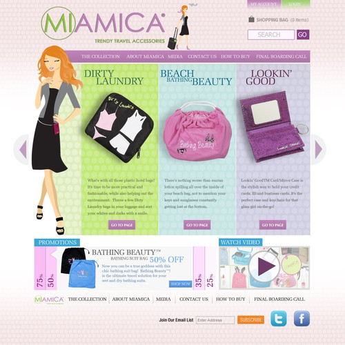 GUARANTEED - New Website Design Wanted for Accessory Company