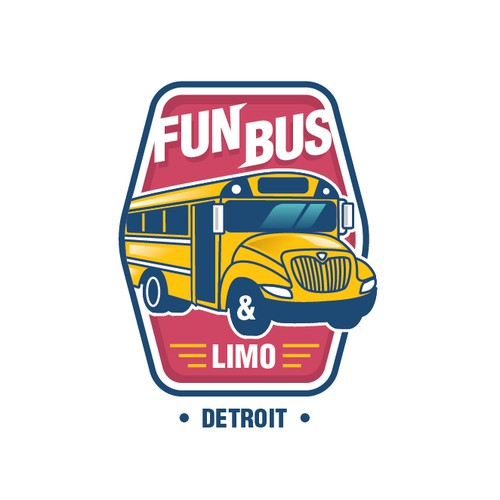 Party bus logo