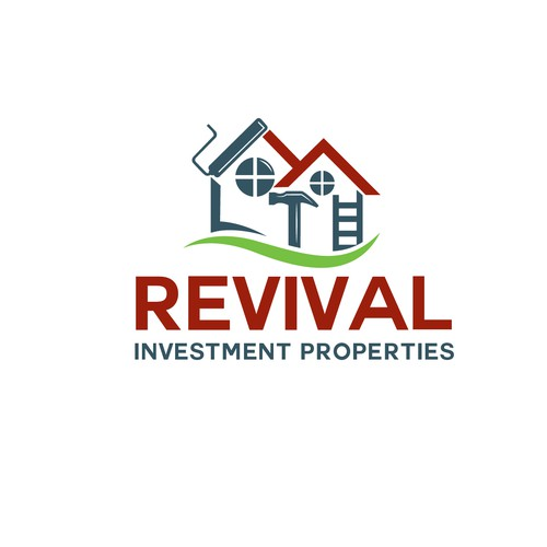 Logo for Revival investment properties.