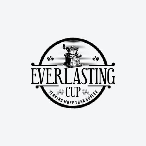 Vintage logo coffee cafe