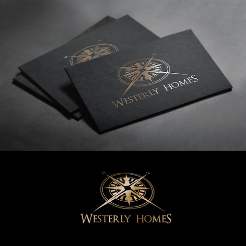 Create an appealing brand recognizing logo for a small luxury home building company
