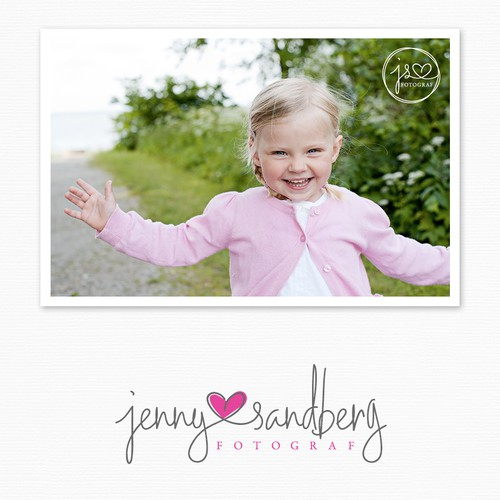 *Guaranteed*  Help Jenny Sandberg  Photography with a new logo