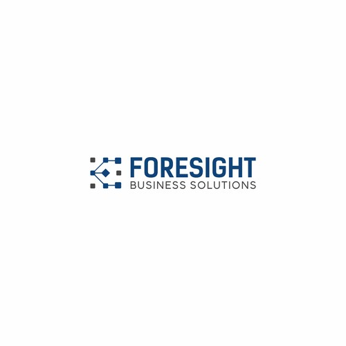 Logo concept Foresight Business Solutions