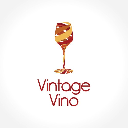 "Create a brand logo "" VinoVintage "" for luxury wine & Sprits retail shop"
