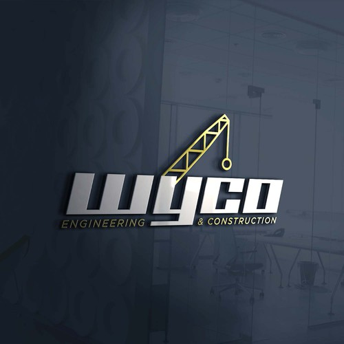 Sophisticated & Modern logo for Wyco Engineering and Construction