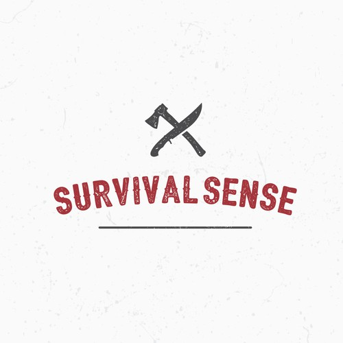 Create a visually appealing logo for Survival Sense