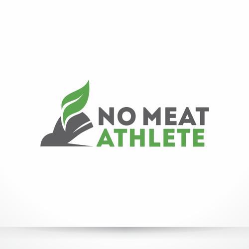 Logo design for No Meat Athlete