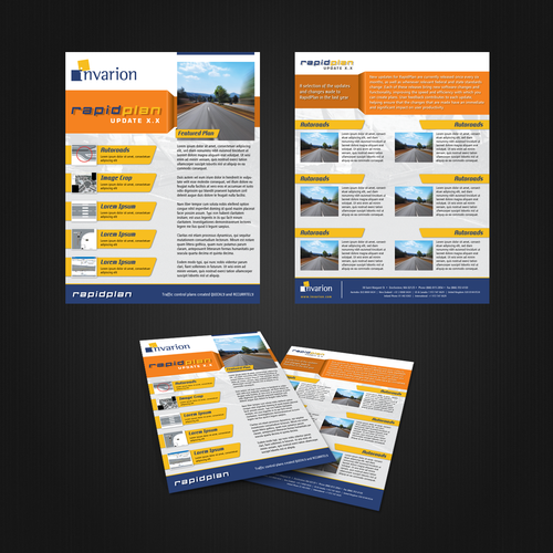 Create the next brochure design for Invarion