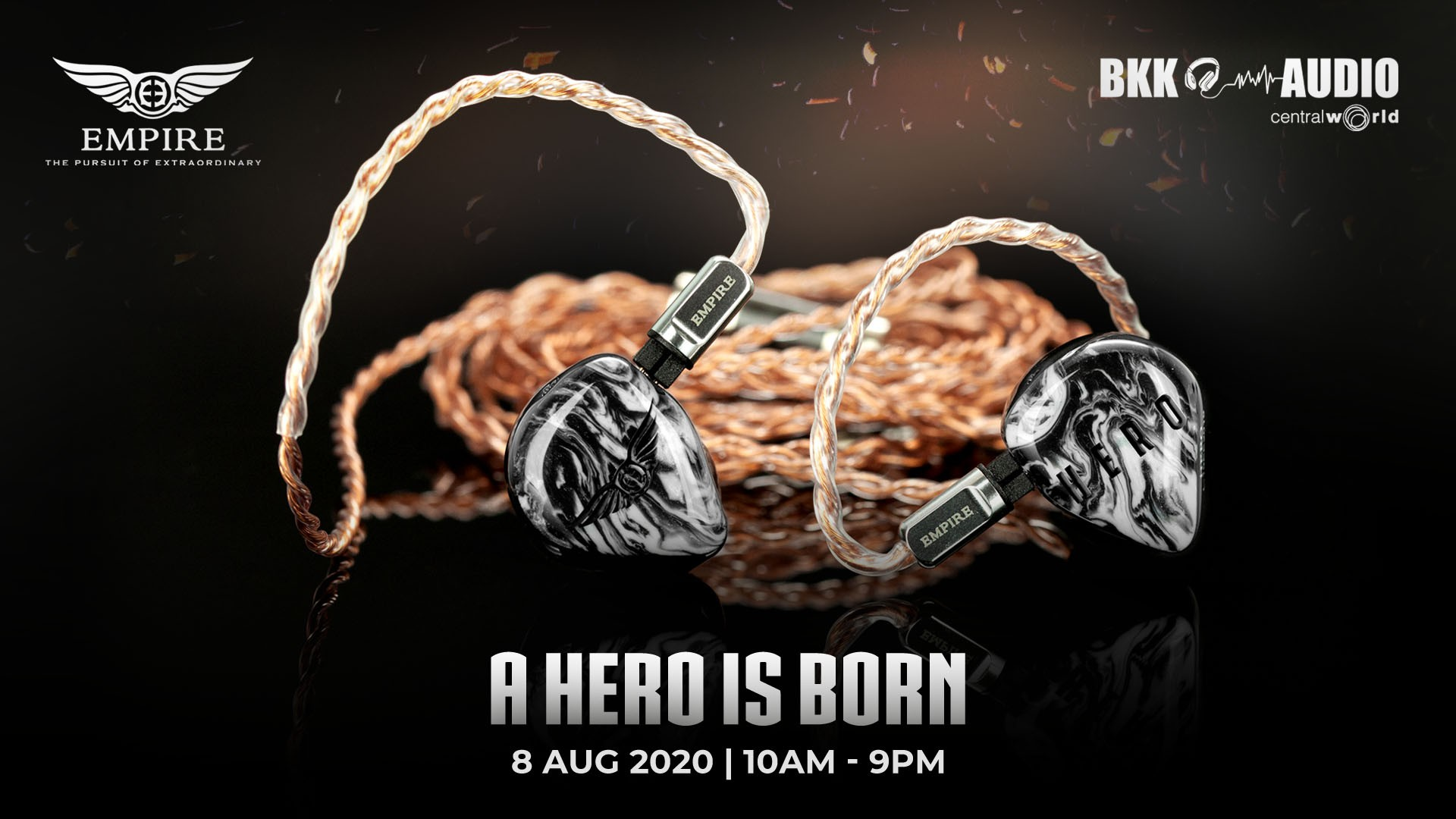 Banners ads for our New CIEMs/UIEMs Empire Ears Odin and Hero