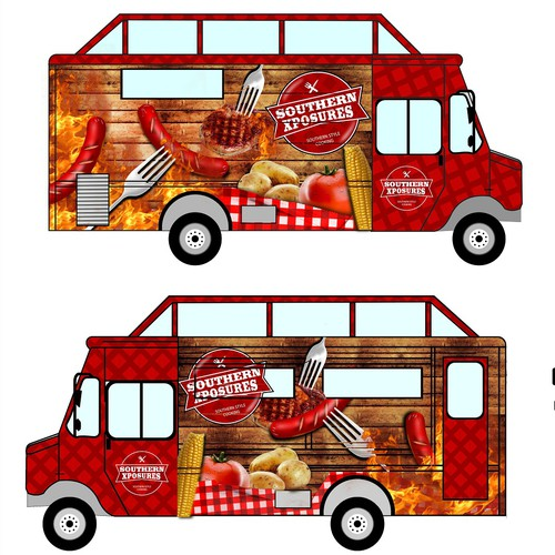 wrap design truck