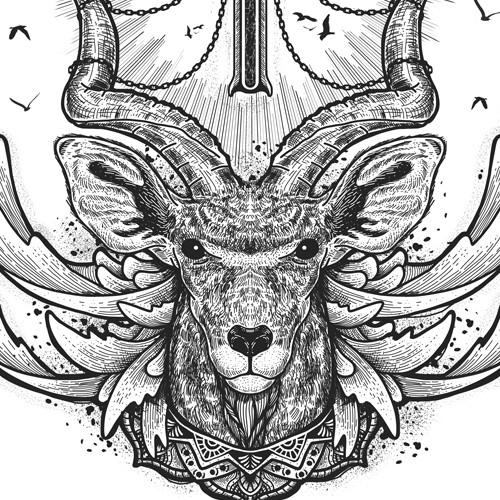 Kudu - engraving