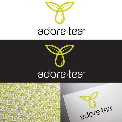 Adore Tea with a new logo