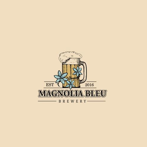 magnolia bleu