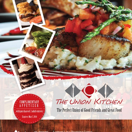 Create an ad for restaurant The Union Kitchen