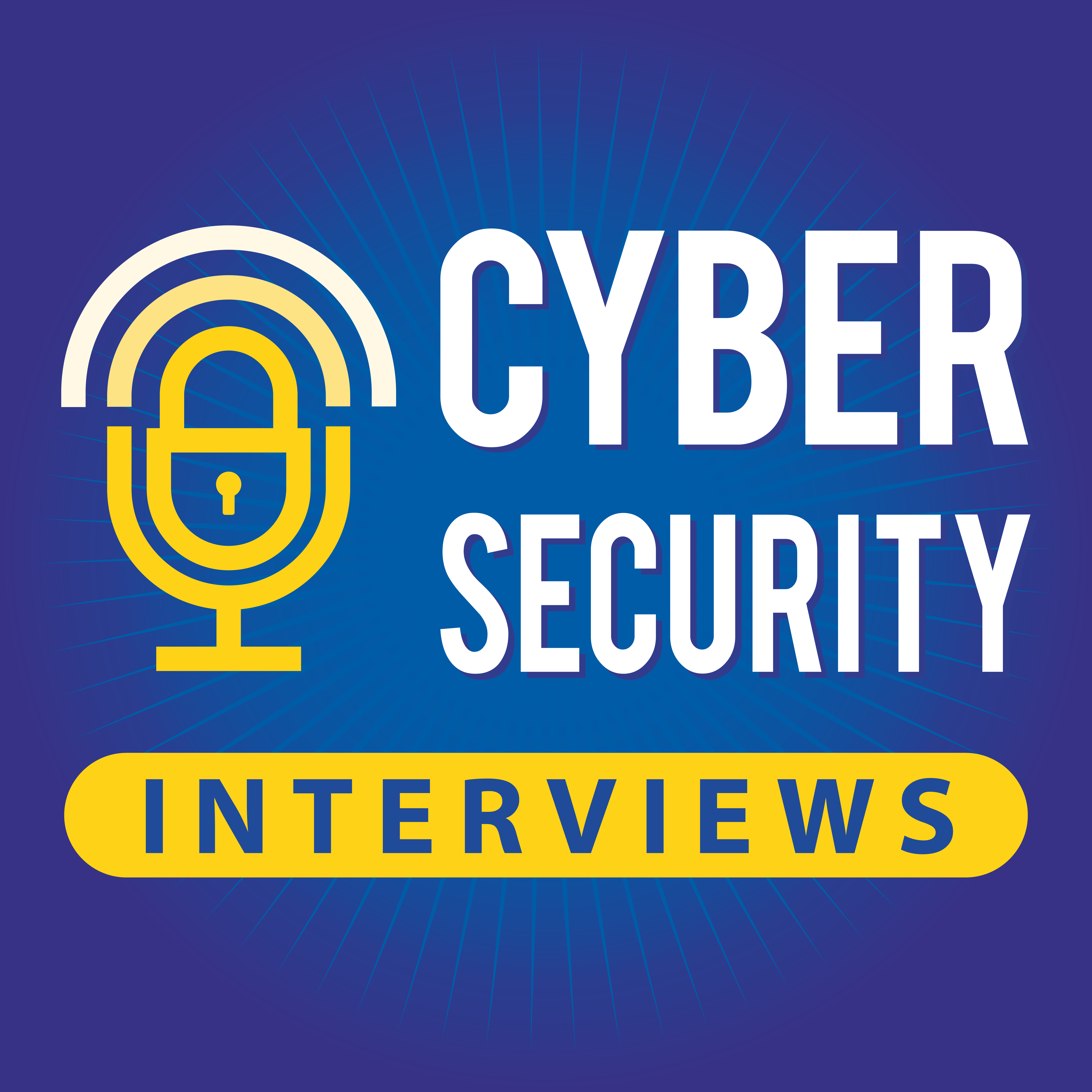 Podcast logo & SM design - Help launch the Cyber Security Interviews podcast!