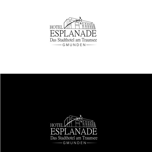 Logo for luxury hotel