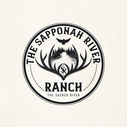 Ranch vintage logo