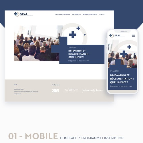 Responsive Webdesign SRAL.ch