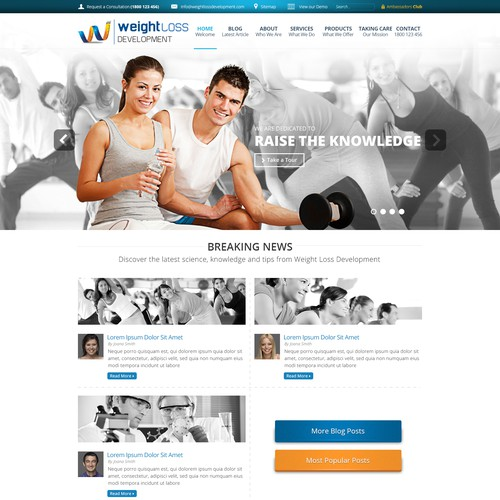 GUARANTEED winner! Design the website of a RISING STAR company!