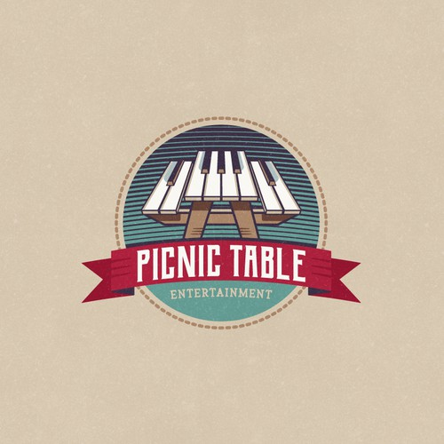 Logo Concept for Picnic Table Entertainment