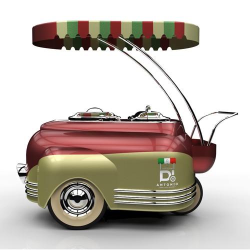Ice-cream Cart Design