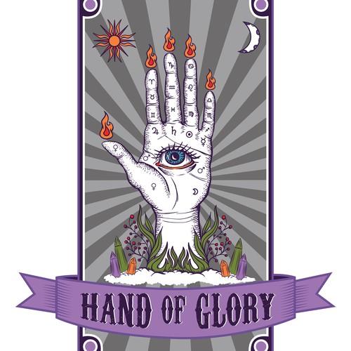 Create a logo for Occult and Spiritual Supplies Shop