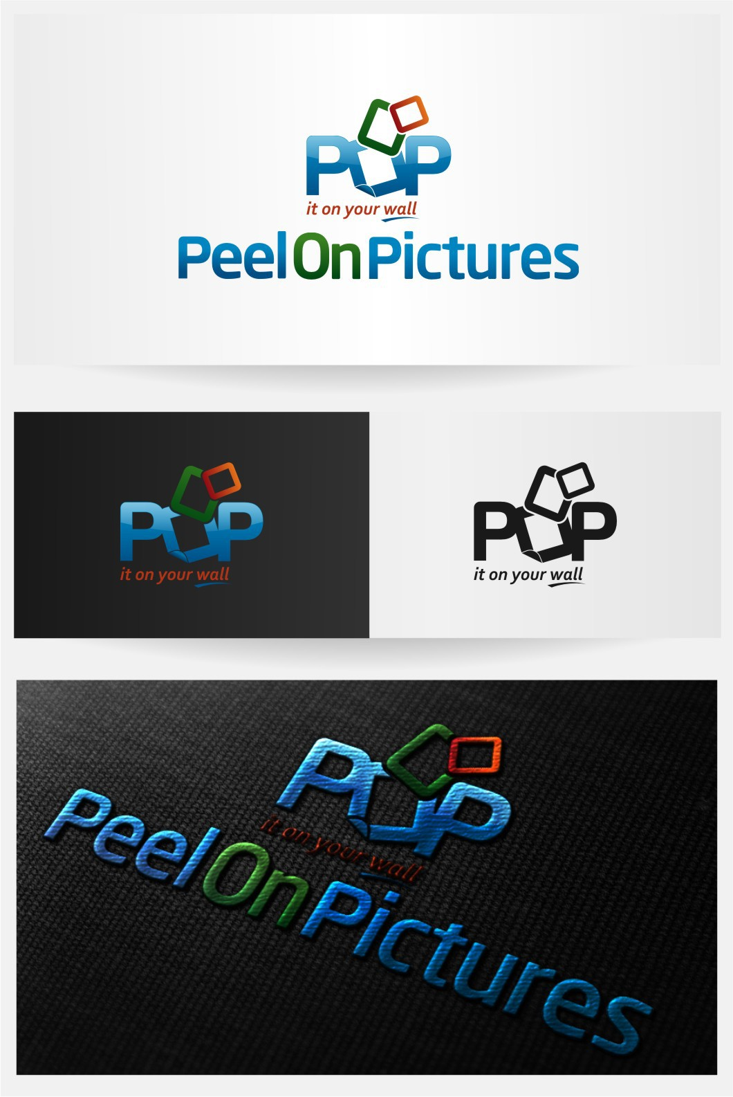 logo for Peel On Pictures