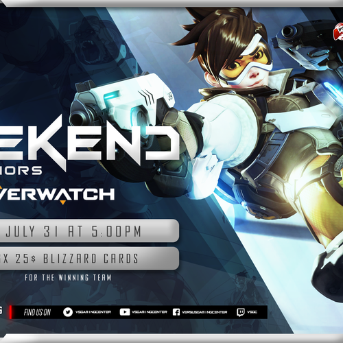 Overwatch Tournament 1080p Banner