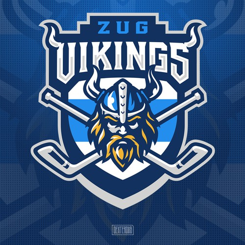 Logo for Ball hockey Club Zug Vikings