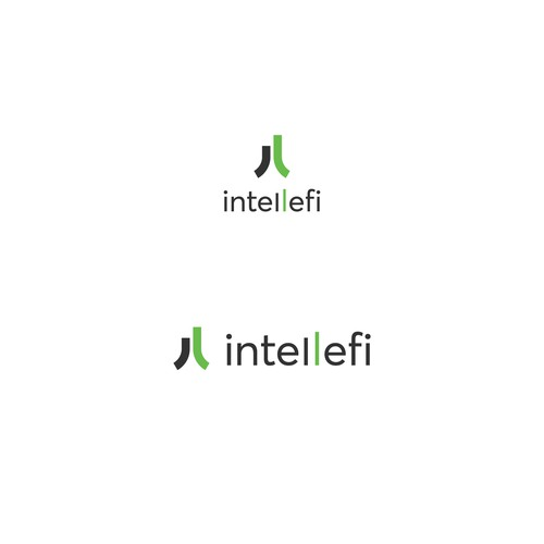 Intellefi logo design