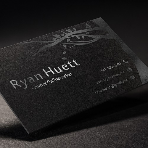 Premium Wine Logo and Business Card