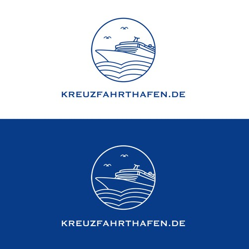 Minimalistic Line Design for Cruise Ship