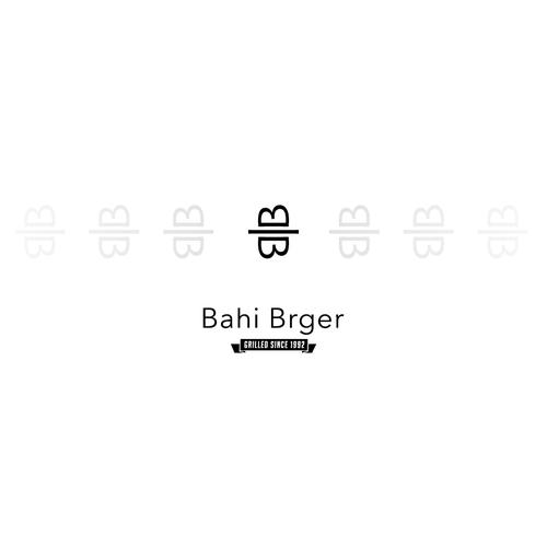 Design a modern logo for an original BURGER